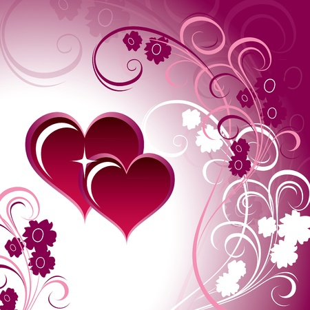 Valentines Day Background   Illustration    Vector