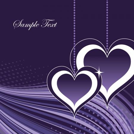 love heart: Valentines Day Background   Illustration