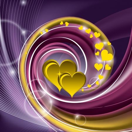 Valentines Day Background   Illustration  Stock Vector - 17346073