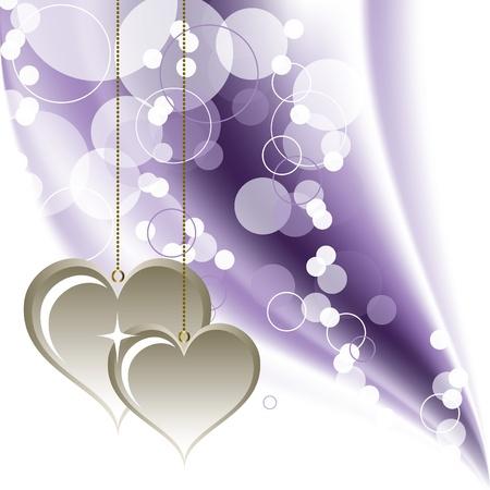 Valentines Day Background   Illustration  Vector
