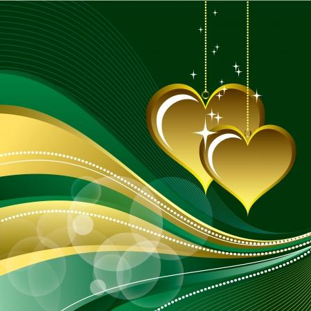Valentines Day Background   Illustration Stock Vector - 17346047