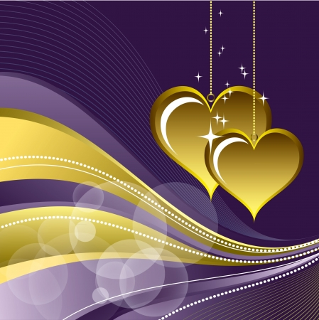 Valentines Day Background   Illustration  Stock Vector - 17346046