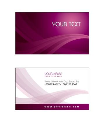 Business Card Template  Vector Eps10  Vector