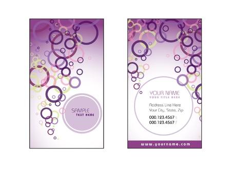Business Card Template  Vector Eps10 Stock Vector - 17358833