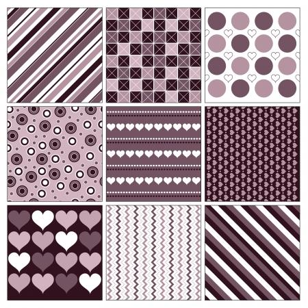 diagonal stripes: Valentines Day Background