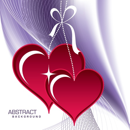 Valentines Day Background  Stock Vector - 17373595