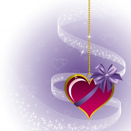 Valentines Day Background Stock Vector - 17373602