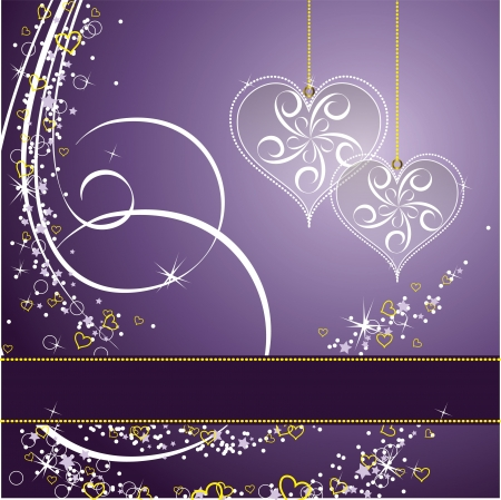 Valentines Day Background  Stock Vector - 17373613