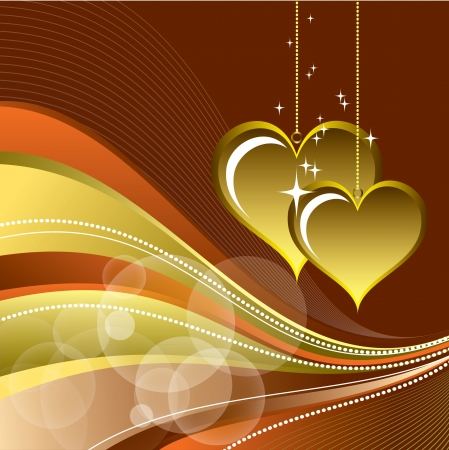 Valentines Day Background  Stock Vector - 17373606