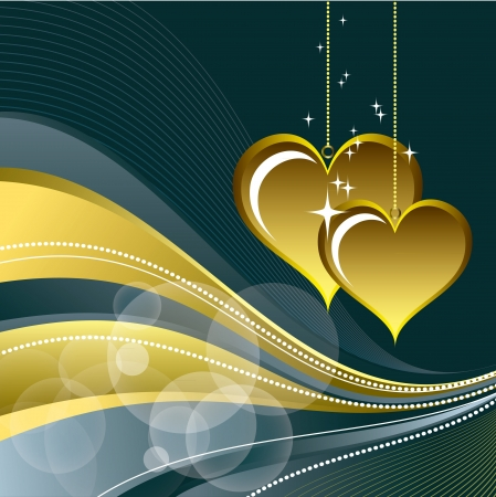 Valentines Day Background Stock Vector - 17373607