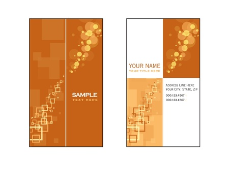 Business Card Template  Eps10 Stock Vector - 17548921