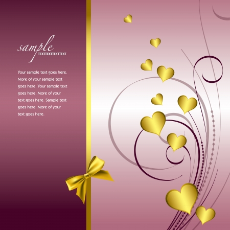 Valentines Day Background  Stock Vector - 17619536