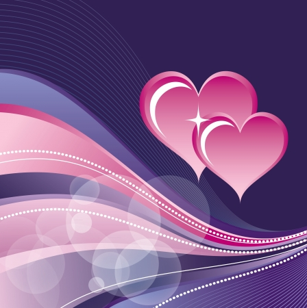 Valentines Day Background Stock Vector - 17616876