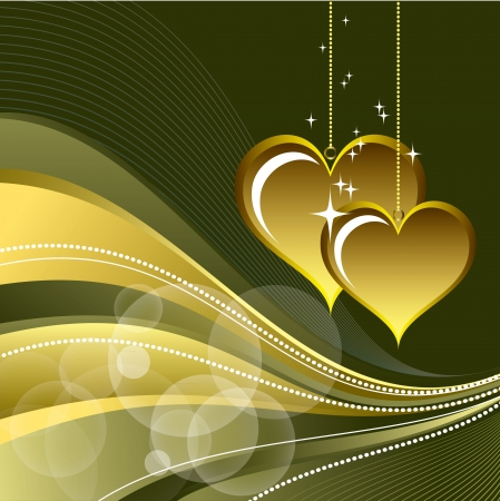 Valentines Day Background Stock Vector - 17620763