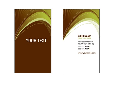 Business Card Template  Stock Vector - 17618868
