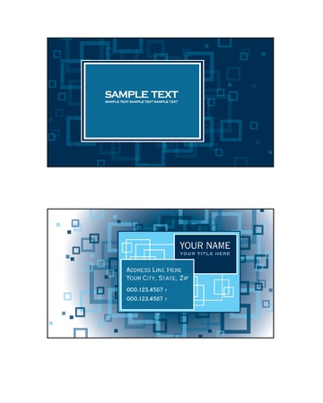 business event: Business Card Template