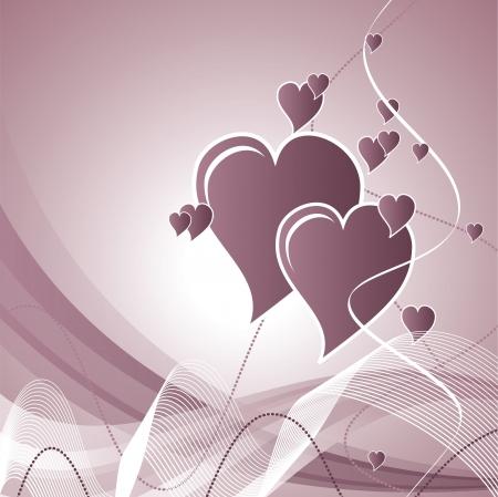 Valentine Hearts  Stock Vector - 17746534