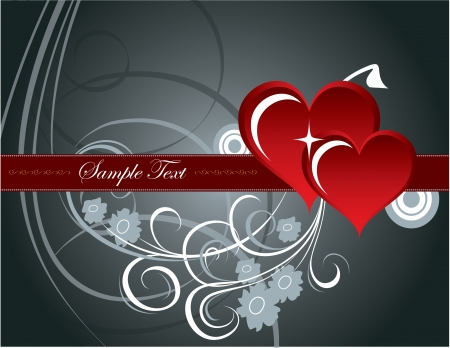 Valentines Day Background Stock Vector - 17746363