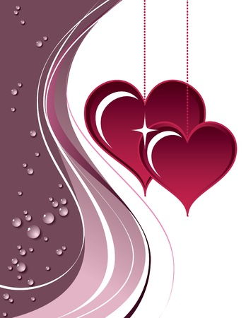 Valentines Day Background Stock Vector - 17746349