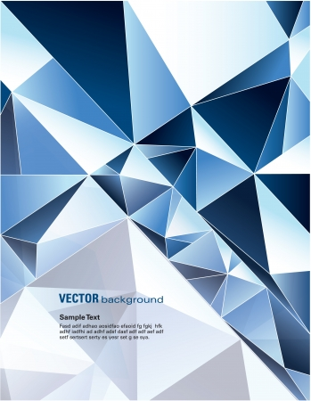ice cubes: Vector Background  Abstract Illustration