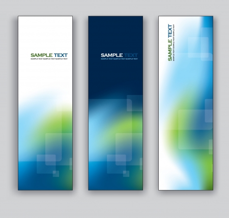 Vector Banners  Abstract Backgrounds Stock Vector - 17883900