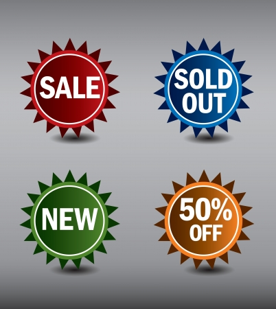 new corner: Round Labels or stickers for sale, 50  off, new and sold out items