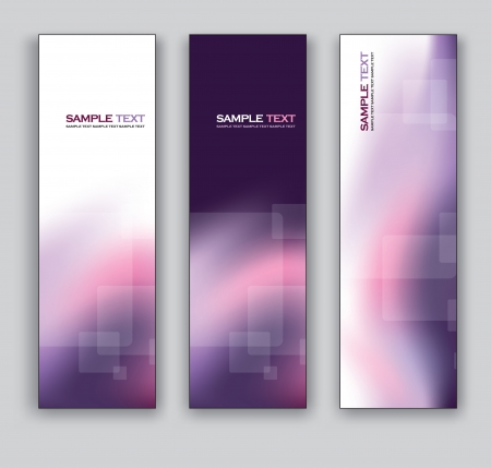 Banners  Abstract Backgrounds Illustration