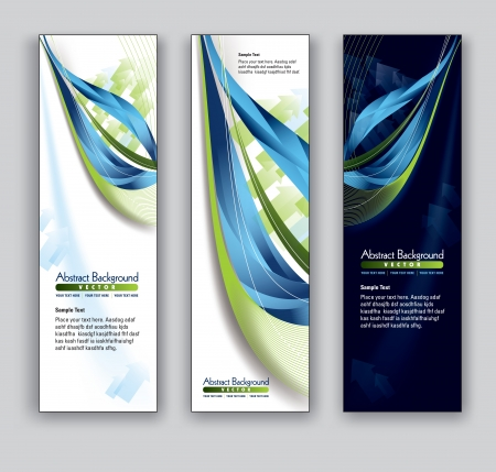 florish:  Banners  Abstract Backgrounds