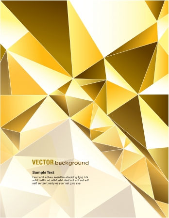 triangle shape: Vector Background  Abstract Illustration Illustration