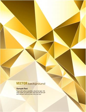 triangulo: Vector ilustraci�n de fondo abstracto