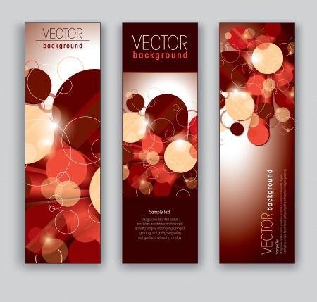 Vector Banners  Abstract Backgrounds  矢量图像