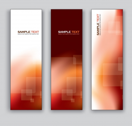 website header: Vector Banners  Abstract Backgrounds  Illustration