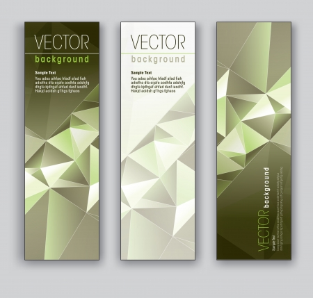 Vector Banners  Abstract Backgrounds Stock Vector - 18138042