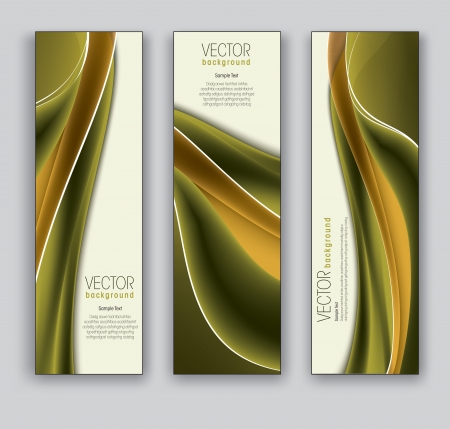 vector banners: Vector Banners  Abstract Backgrounds  Illustration