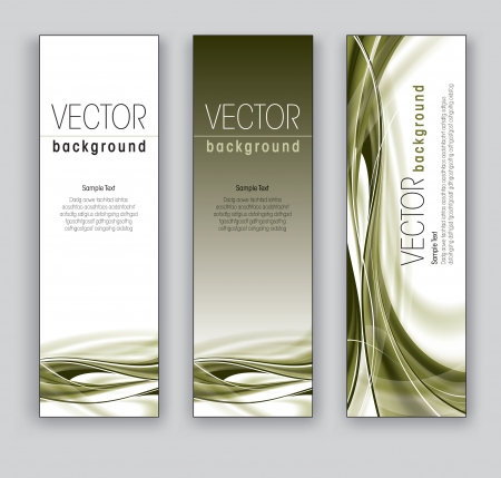 vertical image: Vector Banners  Abstract Backgrounds