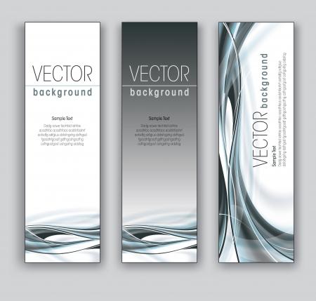 Banners vector Fondos Abstractos Foto de archivo - 18238639