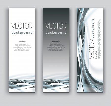 Vector Banners  Abstract Backgrounds Stock Vector - 18238639