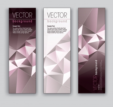 Vector Banners  Abstract Backgrounds Stock Vector - 18238644