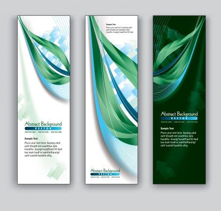 florish: Vector Banners  Abstract Backgrounds  Illustration