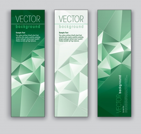 Vector Banners  Abstract Backgrounds Stock Vector - 18270862