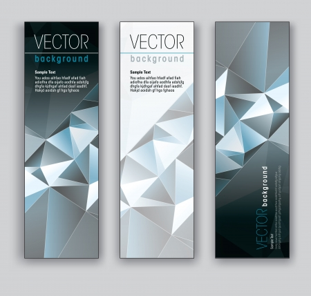 Vector Banners  Abstract Backgrounds Stock Vector - 18270830