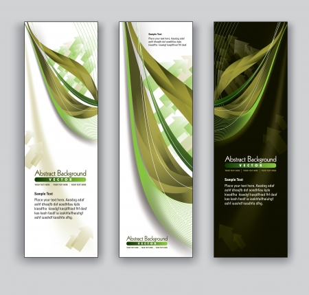 backgrounds: Vector Banners  Abstract Backgrounds  Illustration