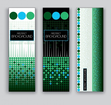 Vector Banners  Abstract Backgrounds  일러스트
