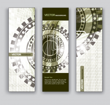 website backgrounds: Vector Banners  Abstract Backgrounds  Illustration