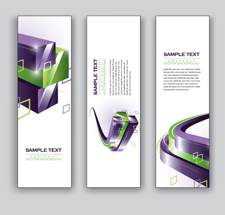 lineas verticales: Abstract Banners Fondos