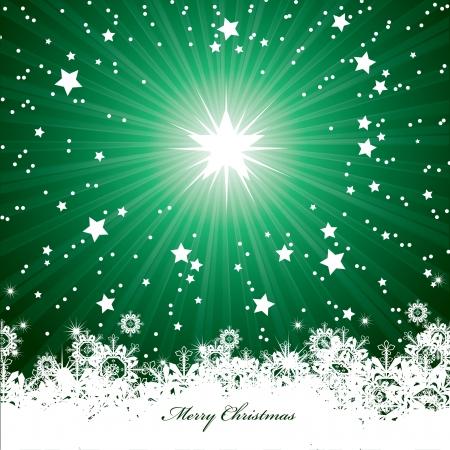 estrellas de navidad: Fondo De Navidad