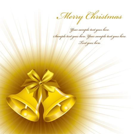 bells: Christmas Background