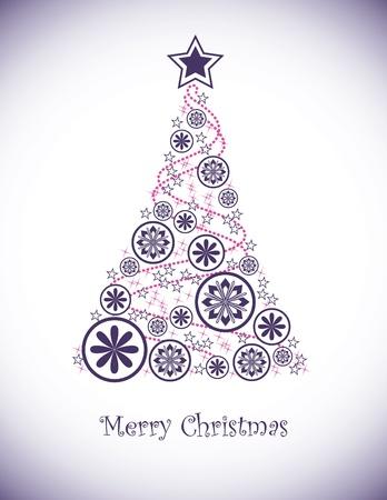 christmas berries: Natale sfondo illustrazione vettoriale