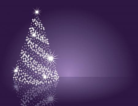 estrellas moradas: Antecedentes de Navidad ilustraci?n vectorial Vectores