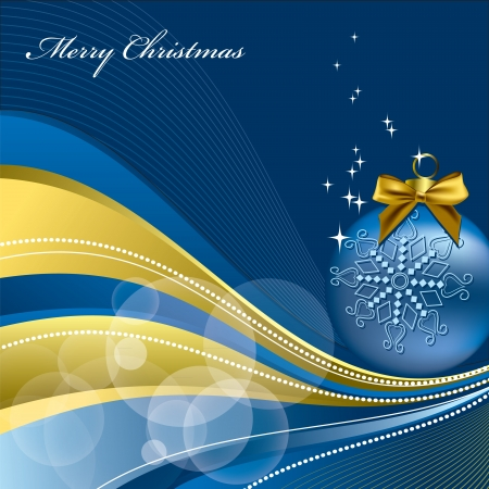 postcard background: Christmas Background  Vector Illustration  Illustration